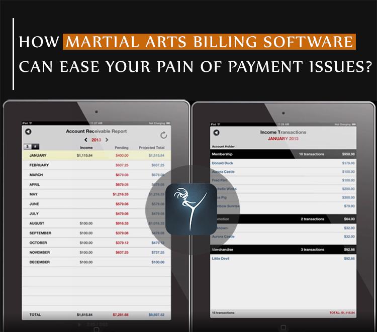 martial arts billing software