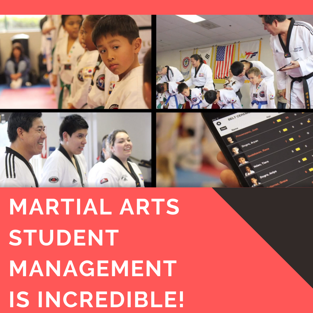 martial arts student management software