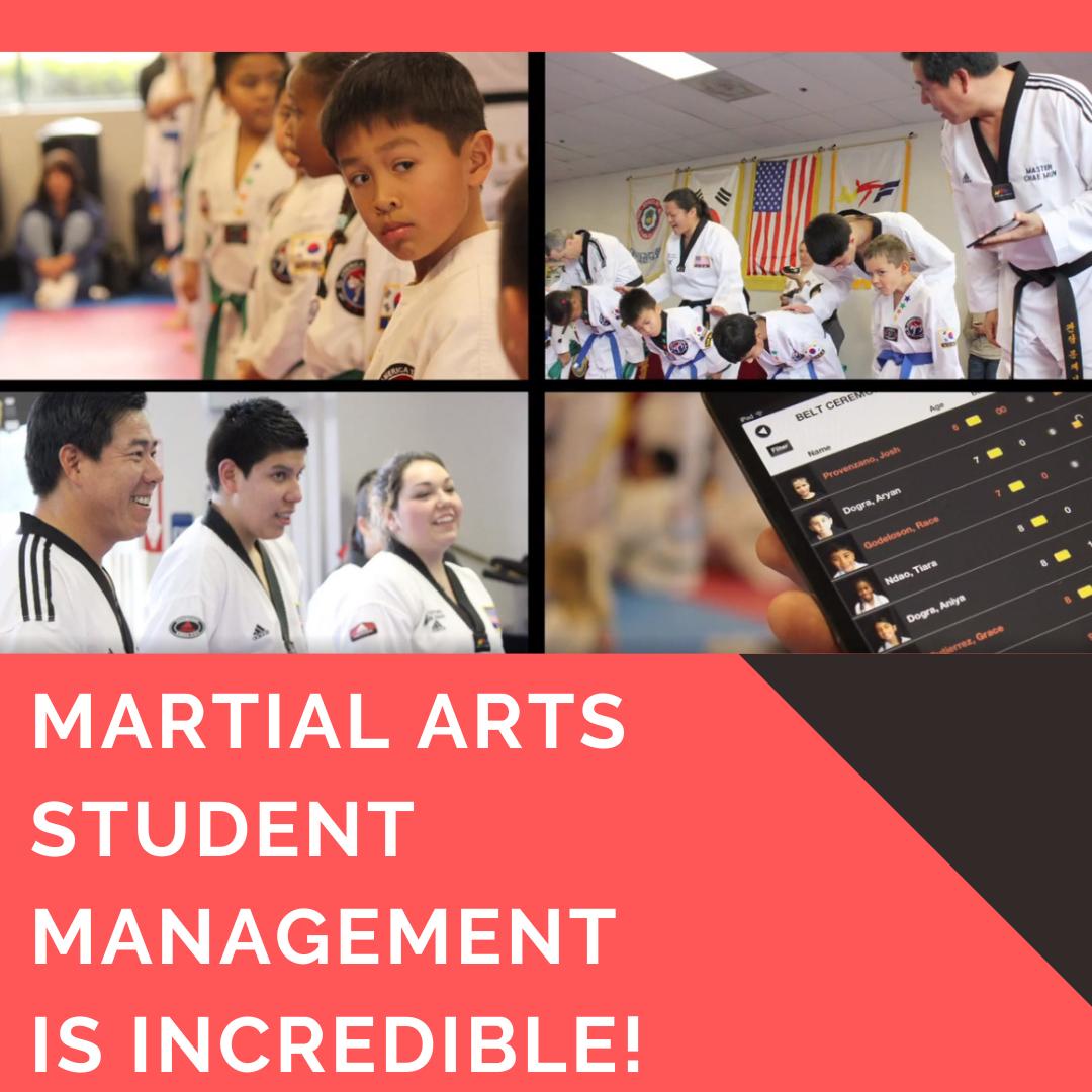martial arts student management software