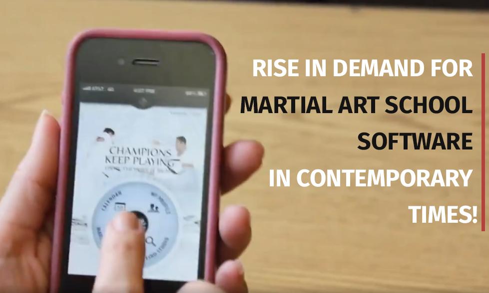 Martial Arts School Software